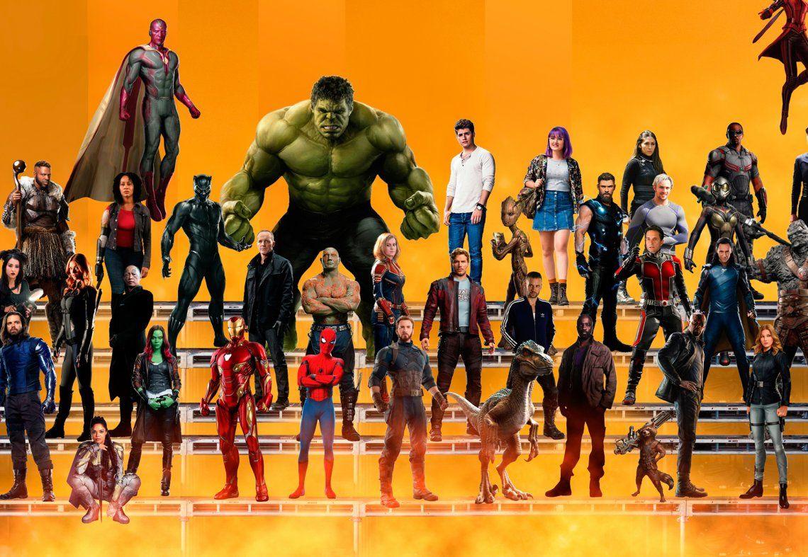 Antes de la San Diego Comic Con, se filtraron cuáles serán las películas de la Fase 4 de Marvel Studios