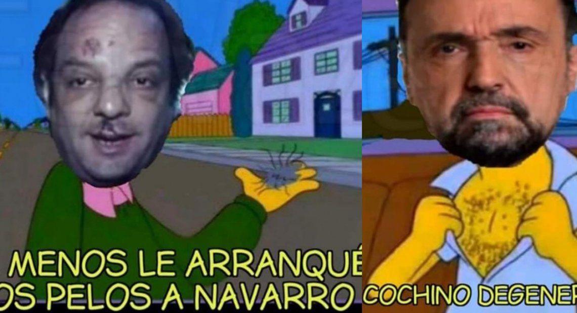 Roberto Navarro vs Baby Etchecopar: todos los memes de la pelea