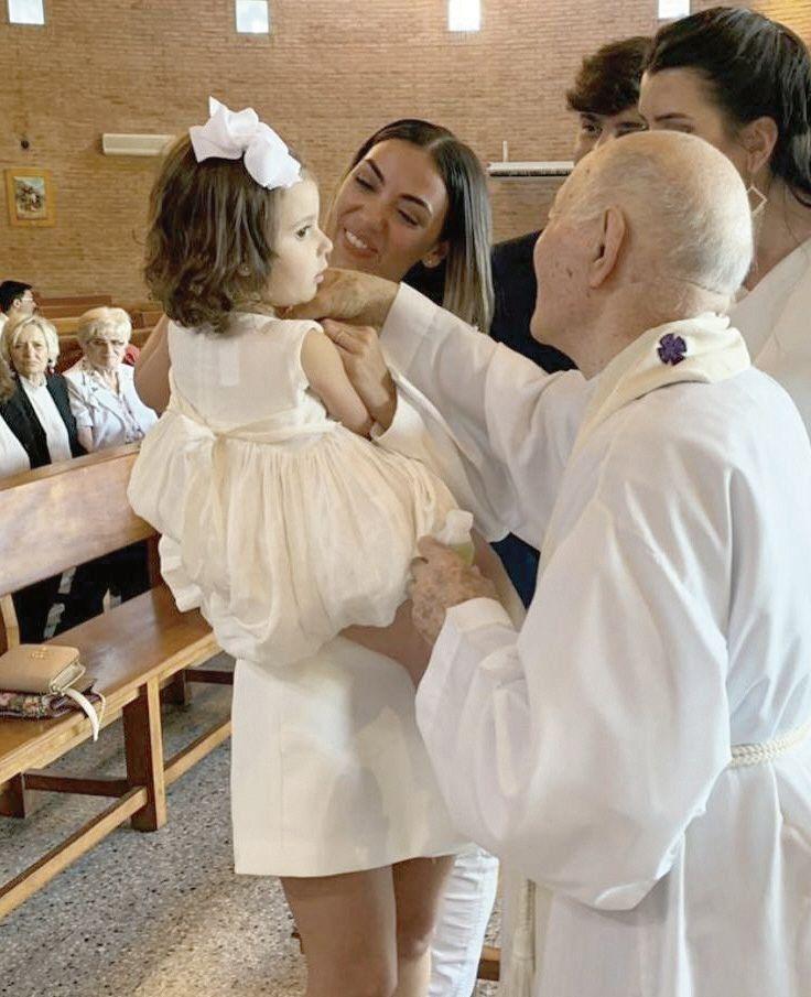 El bautismo las conmovió.