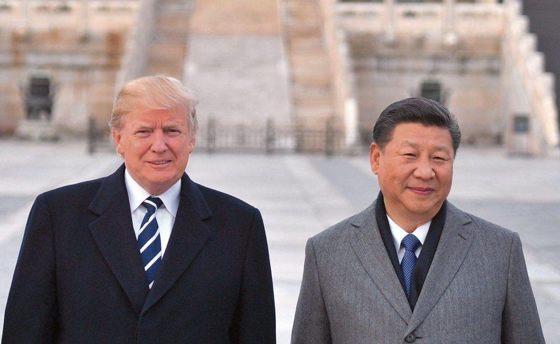 Donald Trump y Xi Jinping mantendrán el viernes en esta capital una reunión bilateral.