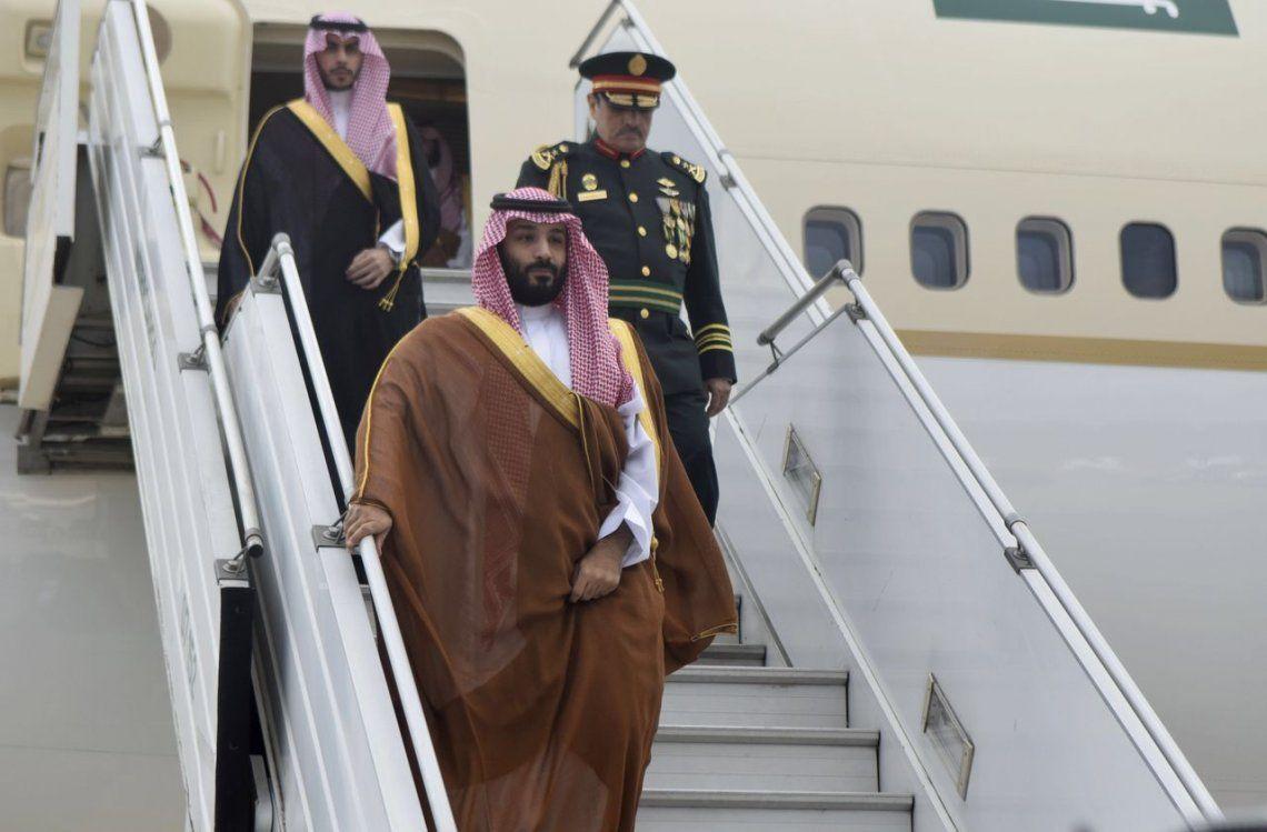 Llegada de Mohammed bin Salman