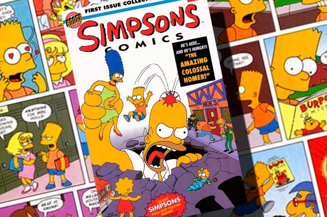 Hace 25 años salía a la venta el primer número de Simpson Comics