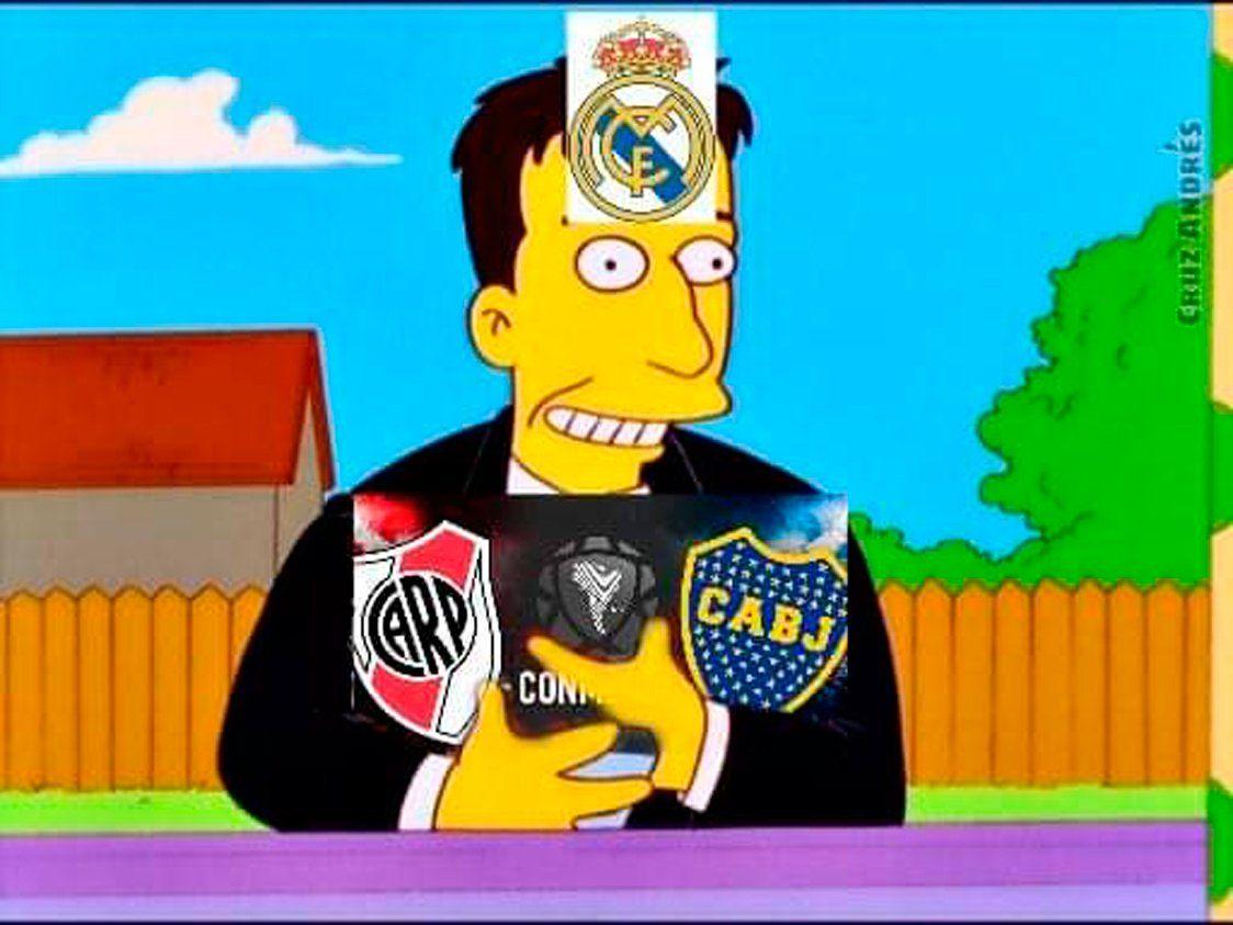 River-Boca en Madrid: estallaron los memes tras la resolución de Conmebol