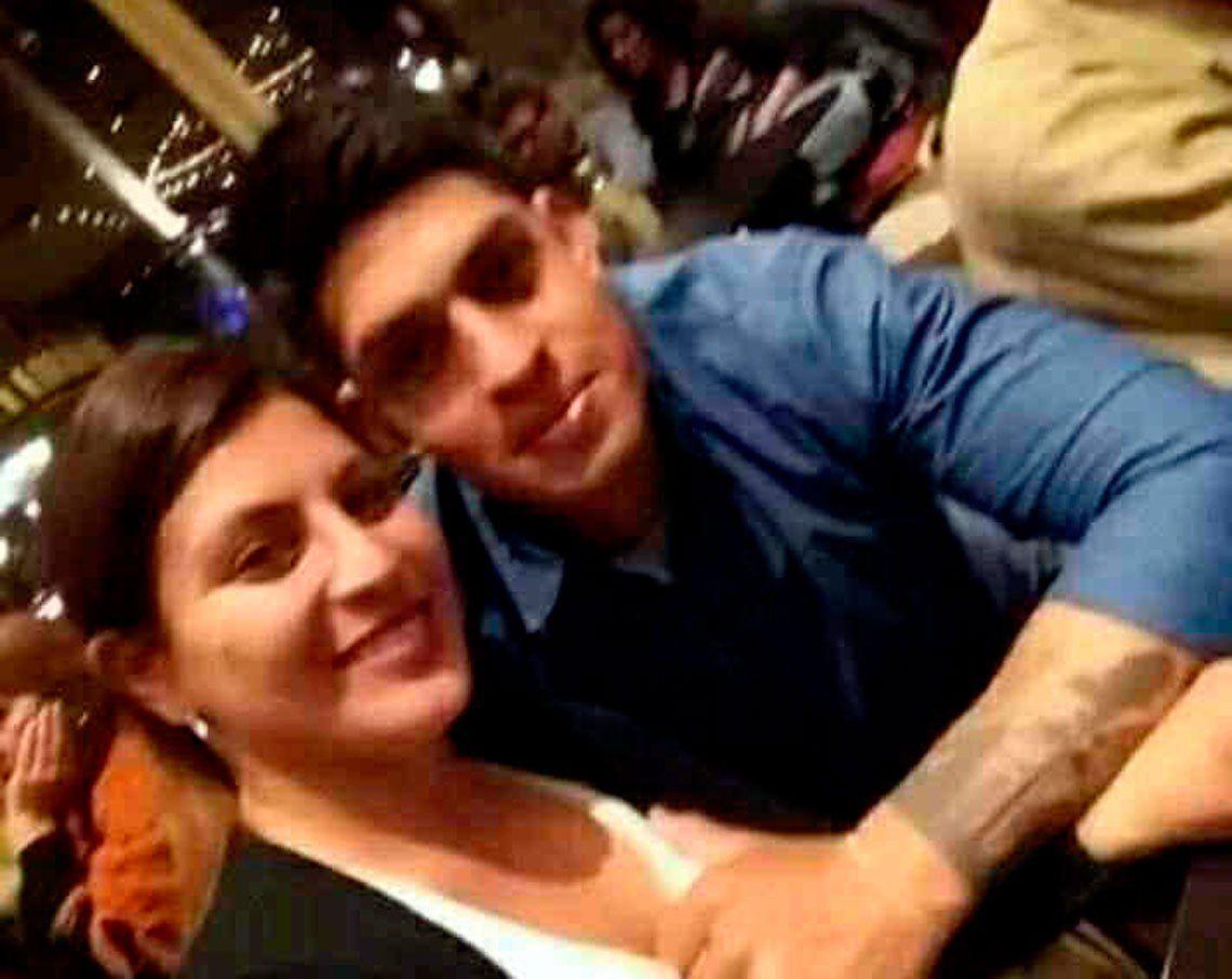 Miranda junto a su novio