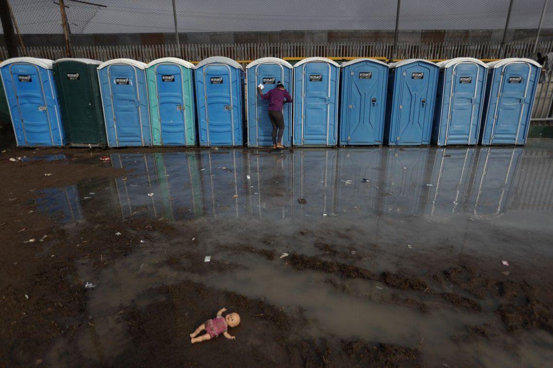 Miles de centroamericanos que esperan ingresar a los EE. UU.