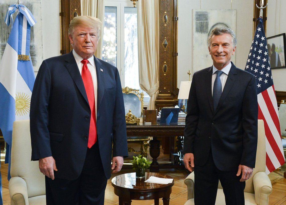 Los detalles de la reunión entre Mauricio Macri y Donald Trump