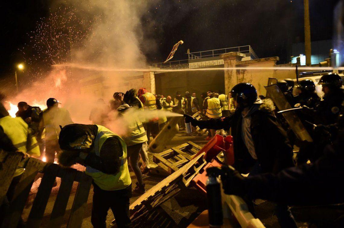 Protestas en Le Mans por el aumento del combustible