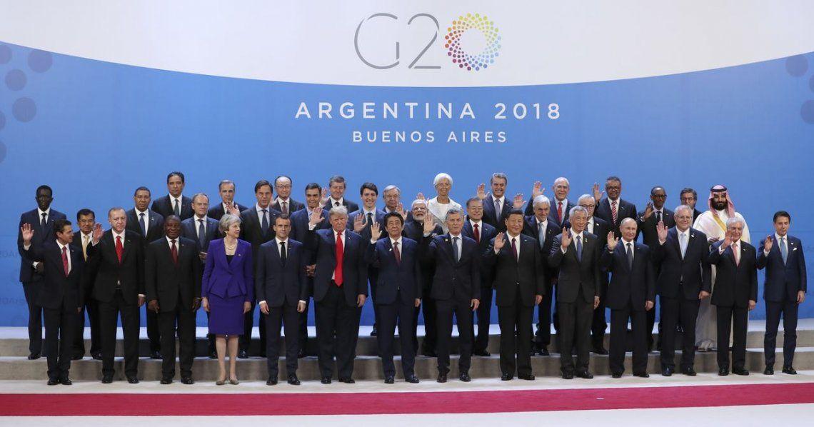 Todos los líderes mundiales del G20 firmaron el documento final de la Cumbre