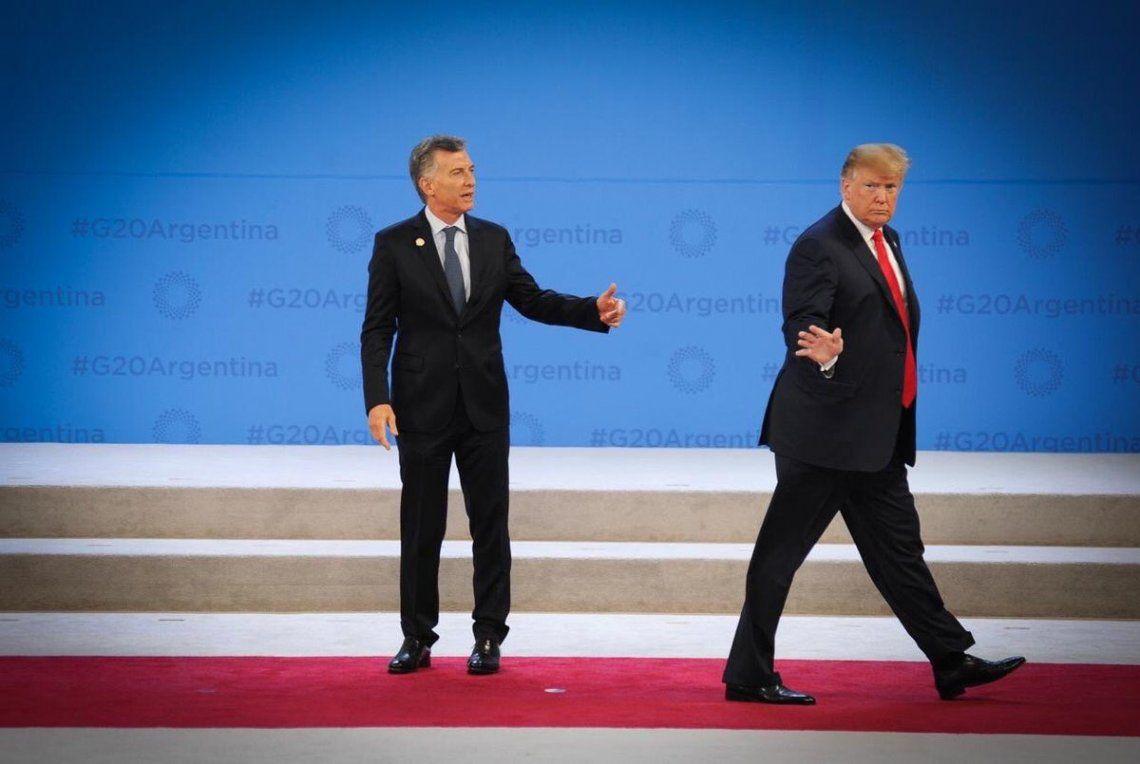 Video | ¿Donald Trump dejó de garpe a Mauricio Macri tras el saludo en la Cumbre del G20?