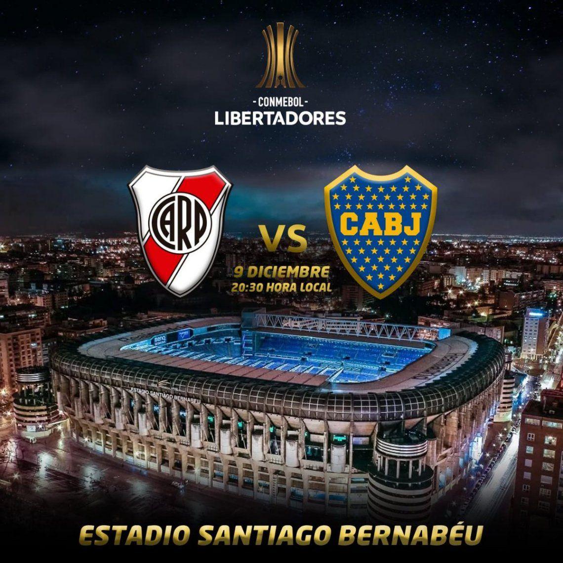 River-Boca en el santiago Bernabéu