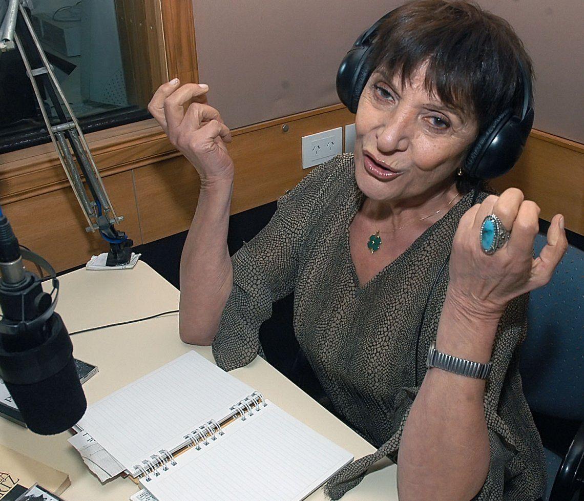 Murió Betty Elizalde, un ícono de la radiofonía nacional