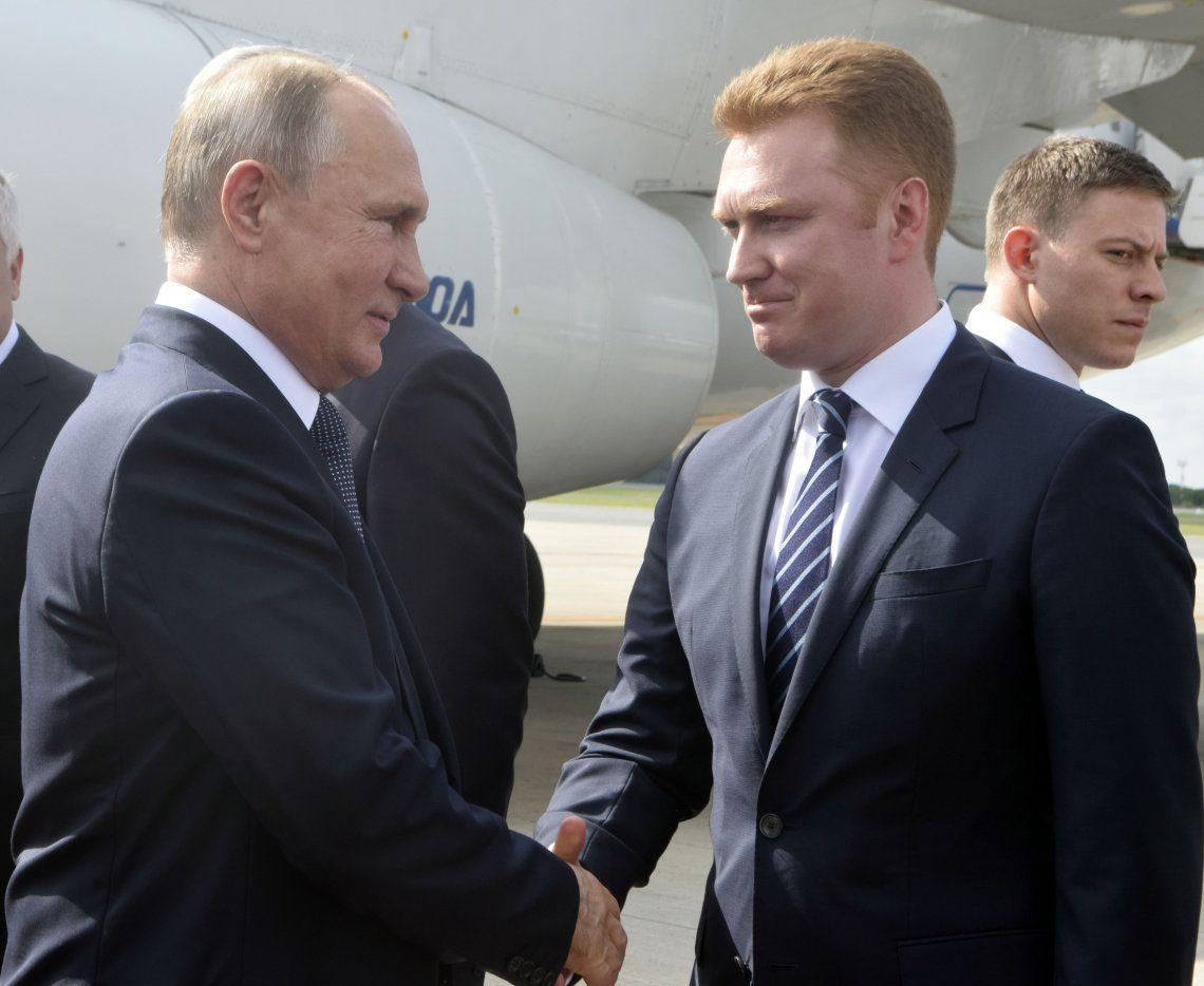 VIDEO  Así llegaba Putin a la Argentina para participar del G20