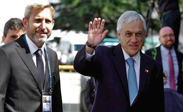 dFrigerio recibe al presidente de Chile