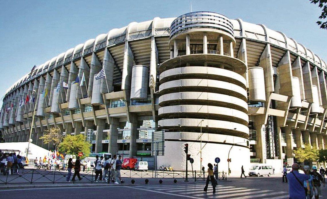 El Santiago Bernabéu se prepara para recibir la final. Se podrán comprar entradas en las boleterías del estadio y también por páginas de internet.
