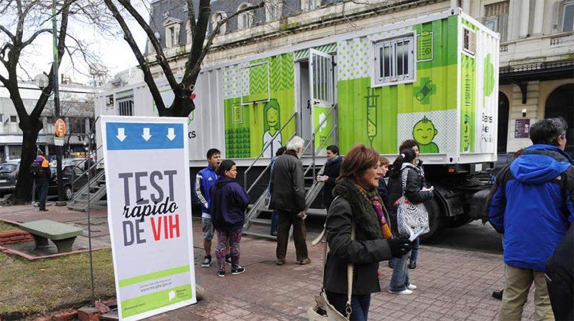 Quilmes: realizan el test para detectar el VIH-SIDA