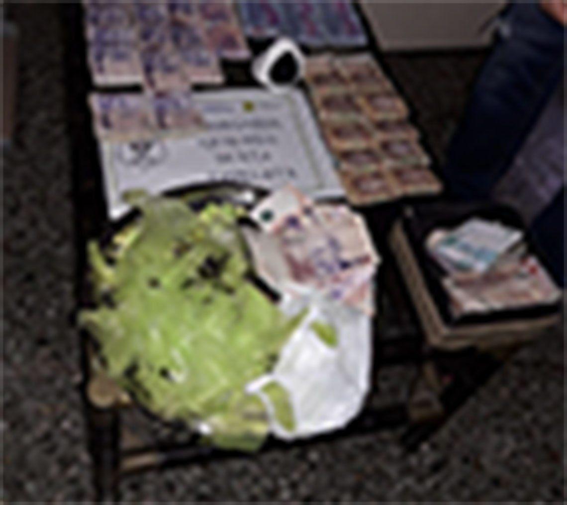 Quilmes: allanaron un quiosco narco en Ezpeleta