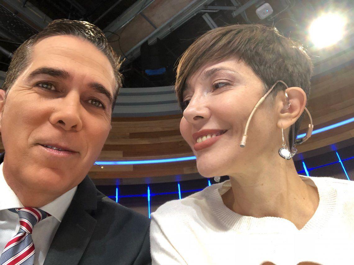 El cariñoso saludo de Cristina Pérez a Rodolfo Barili por su cumpleaños