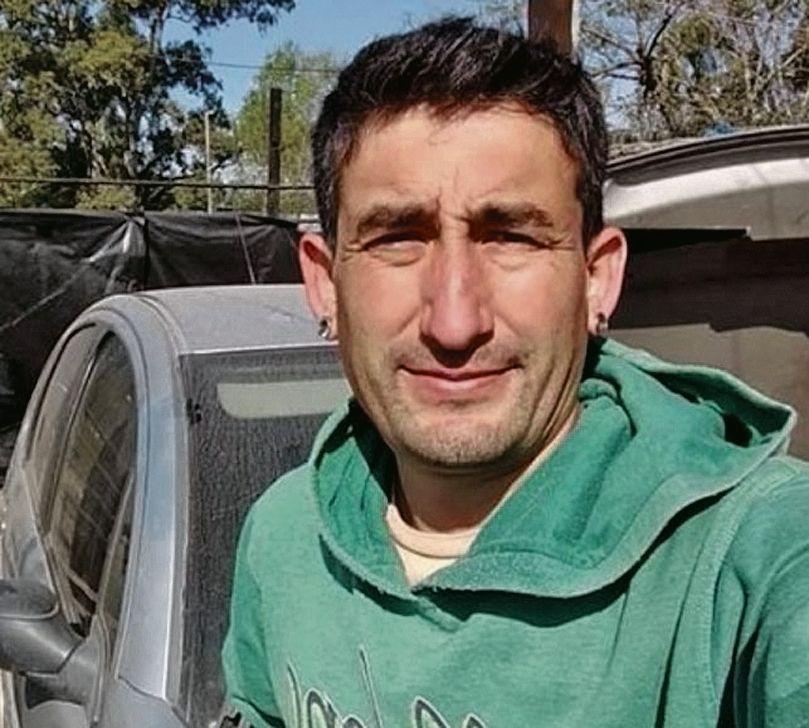dEl mecánico Ariel Alé desaparecido hace 22 días en General Rodríguez.