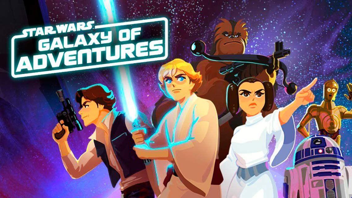 Eran pocas y apareció una nueva serie animada de Star Wars: Galaxy of Adventures