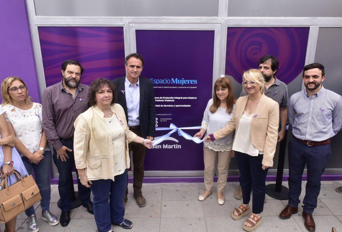 El Espacio Mujeres se inauguró en San Martín