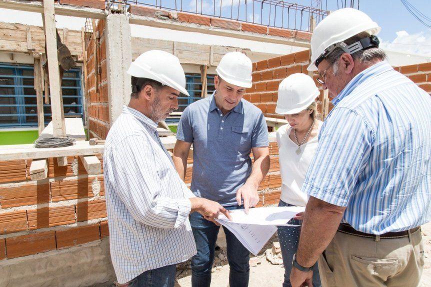 Avanza  remodelación del centro sanitario de Ezpeleta