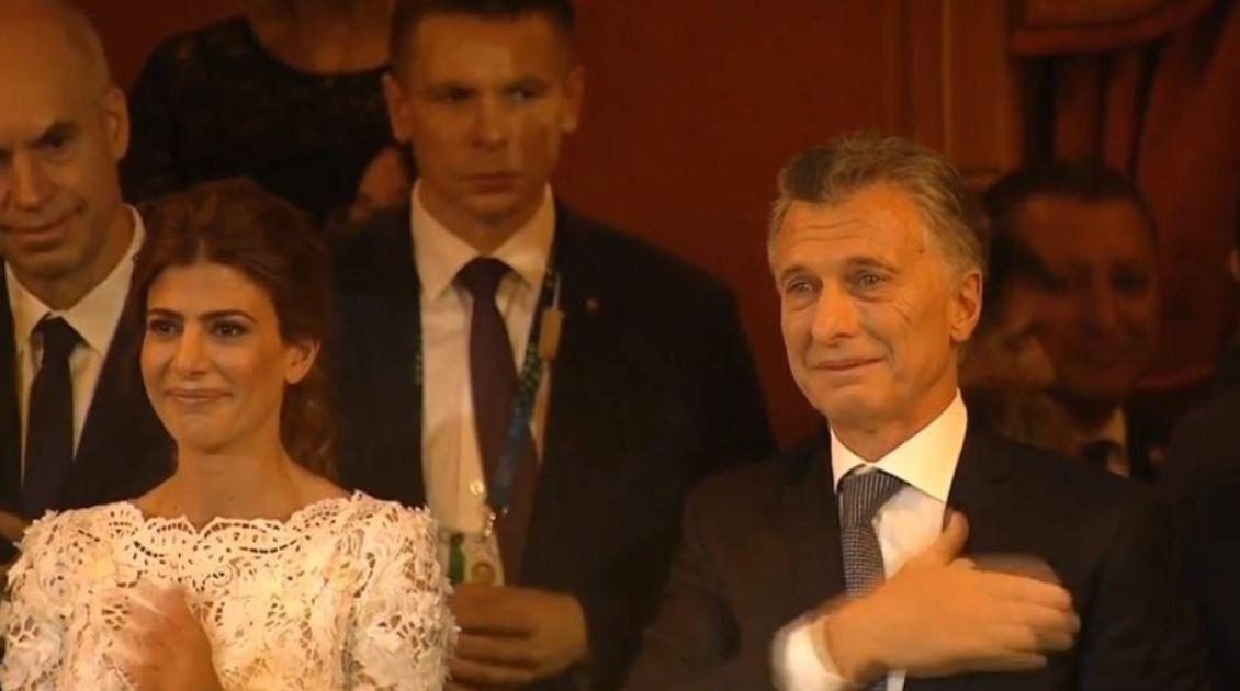 Macri explicó por qué lloró en la gala del Teatro Colón