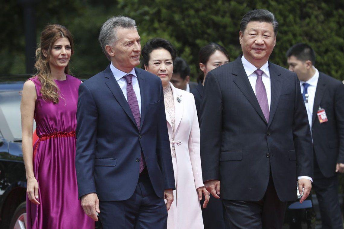 Macri recibió a Xi Jinping y firmaron más de treinta acuerdos
