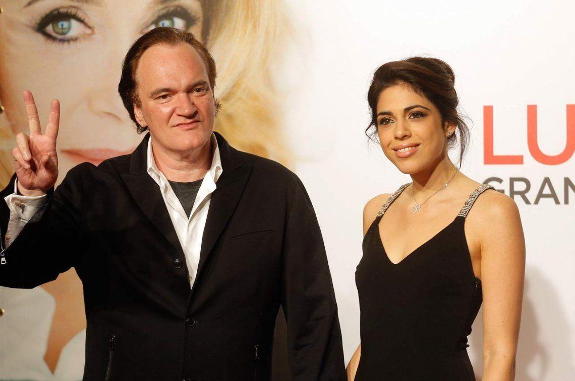 A los 56, Quentin Tarantino fue padre por primera vez