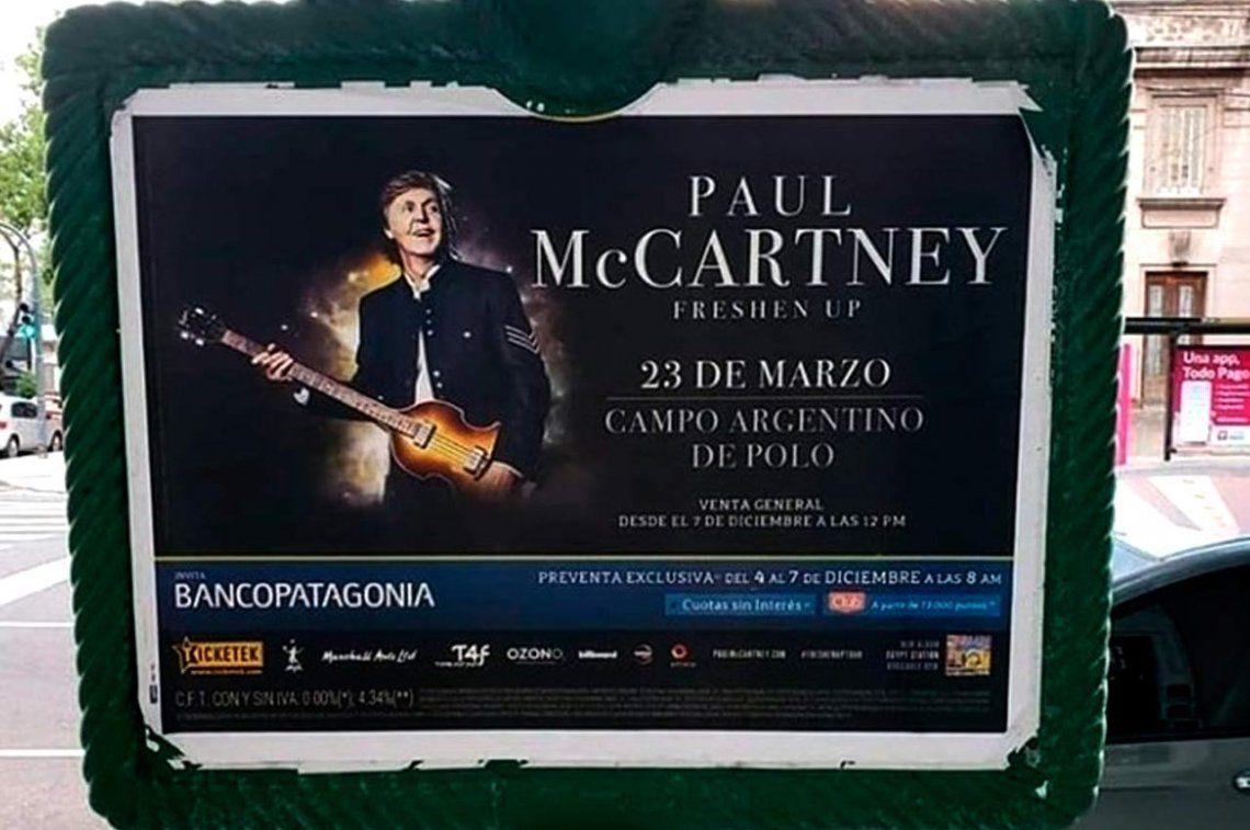 Paul McCartney vuelve a Argentina: ¿Cómo sacar las entradas para el show del 23 de marzo?