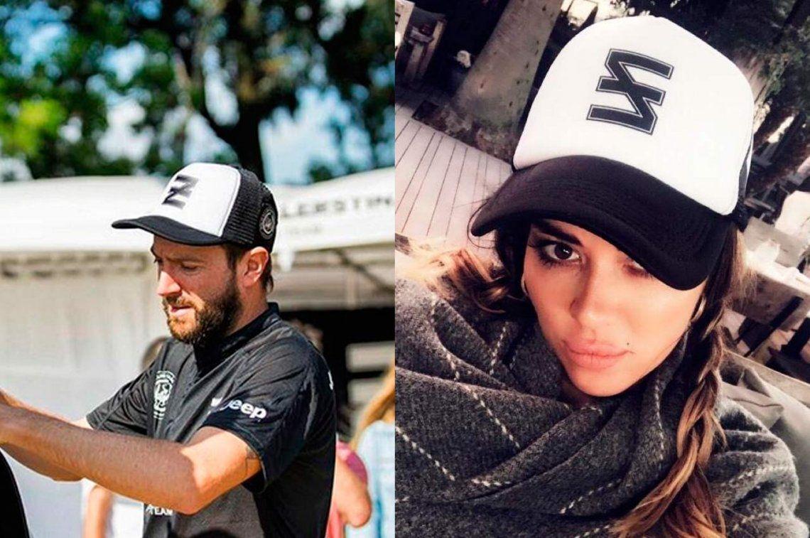 Karina Jelinek usa la gorra del ex de Pampita: ¿hay amor?