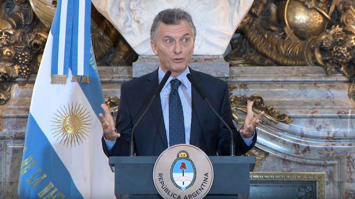 Macri: Nunca tuvimos la relación con el mundo que tenemos ahora