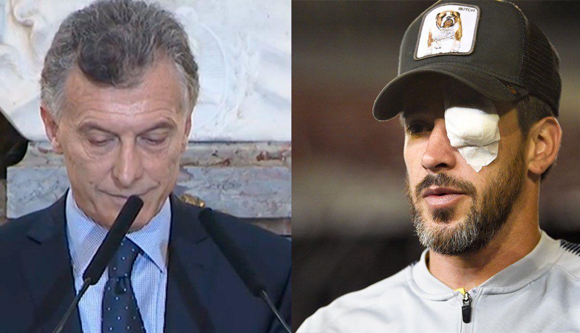 Macri: Me parecen más grave los escupitajos que lo que pasó en la puerta del Monumental