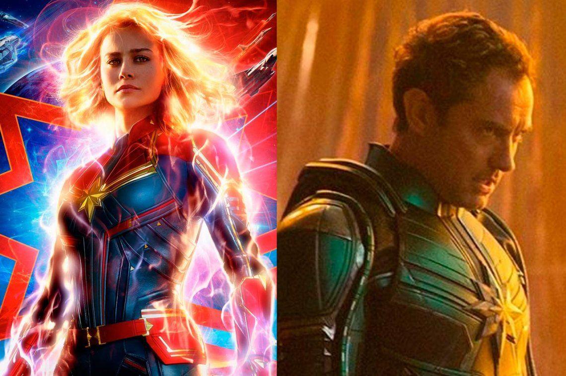 Capitana Marvel: revelan el rol de Jude Law, póster y un nuevo tráiler