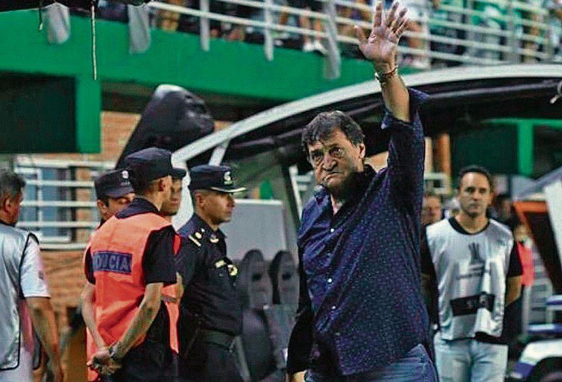 dFalcioni se despidió con lágrimas ante su gente y pasará a ser el manager de la institución de Peña y Arenales.