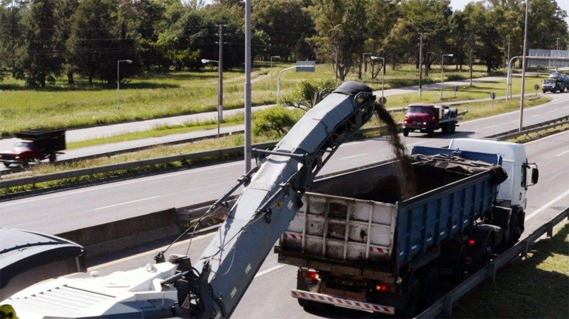 Autopista Buenos Aires-La Plata: cierran el enlace al ramal Gutiérrez