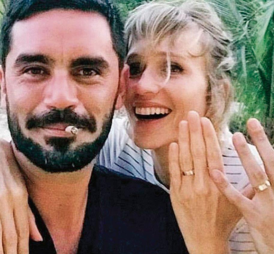Brenda Gandini y Gonzalo Heredia se casaron en secreto