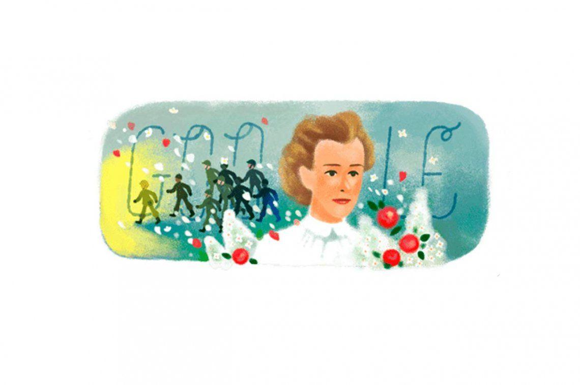 Google homenajea la valentía de Edith Cavell