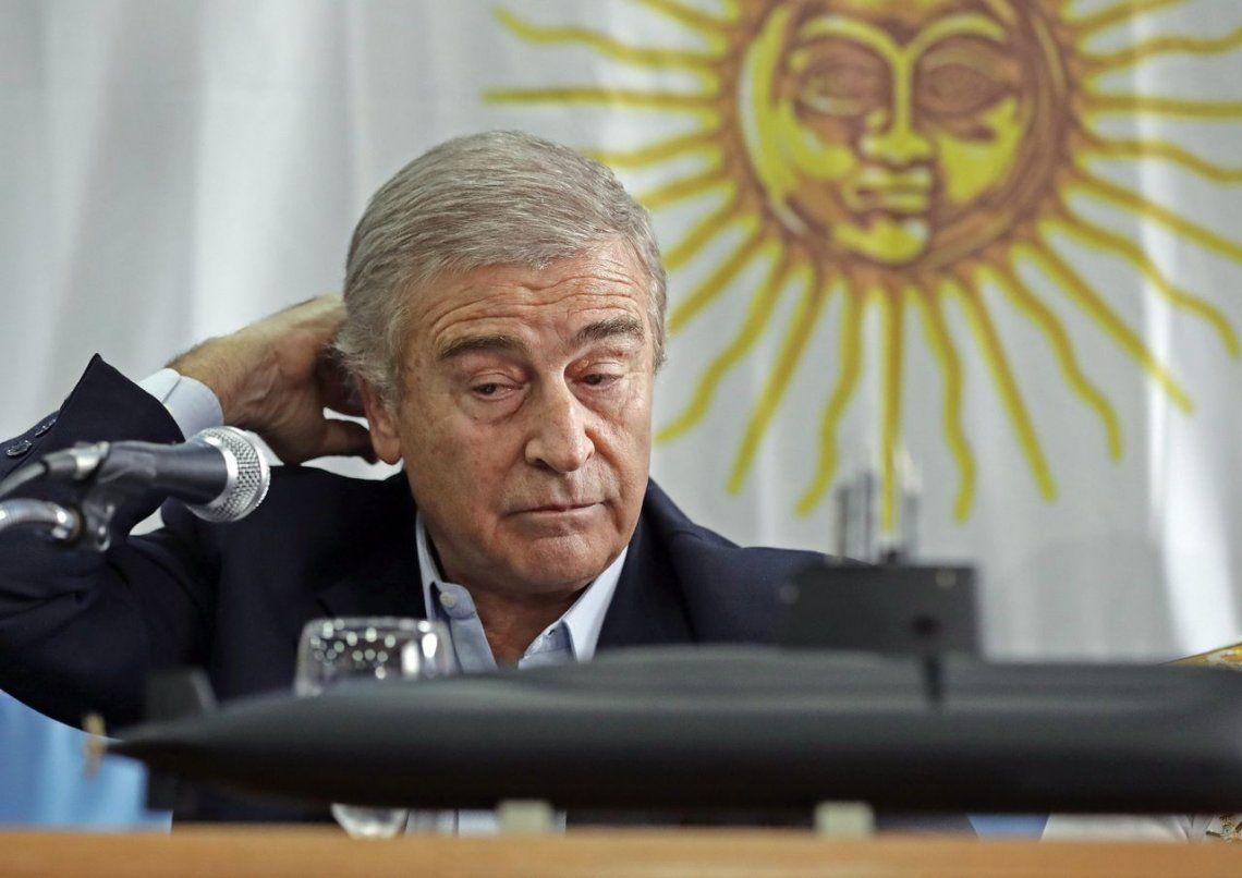 El ministro Aguad