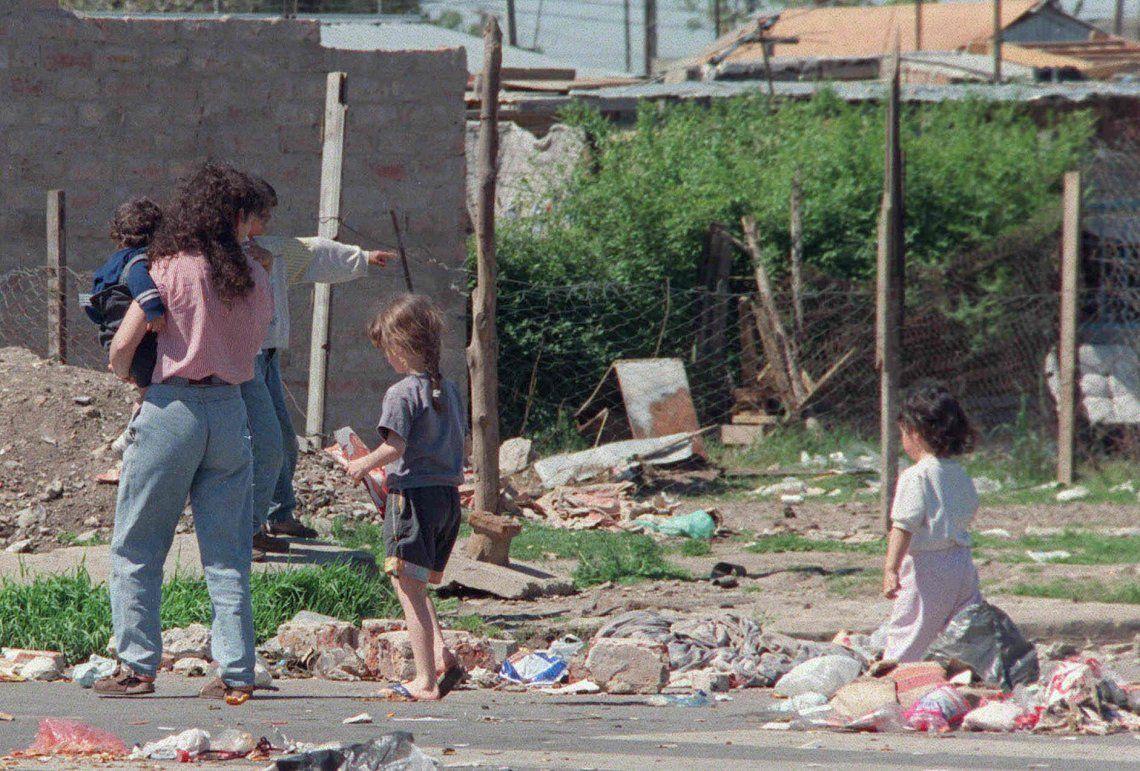 Según Unicef, casi la mitad de los chicos en la Argentina vive en la pobreza