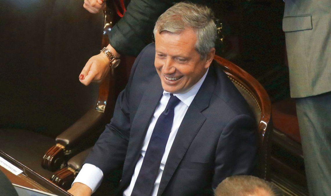 Emilio Monzó en su banca