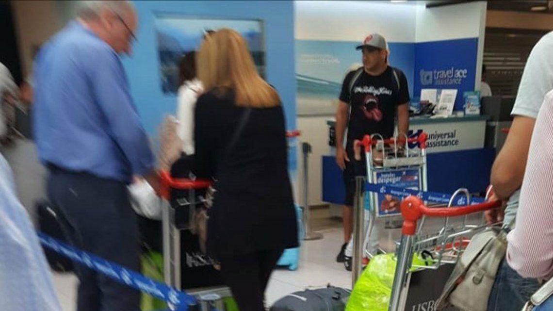 En España no dejaron entrar al barra Mazzaro y será deportado