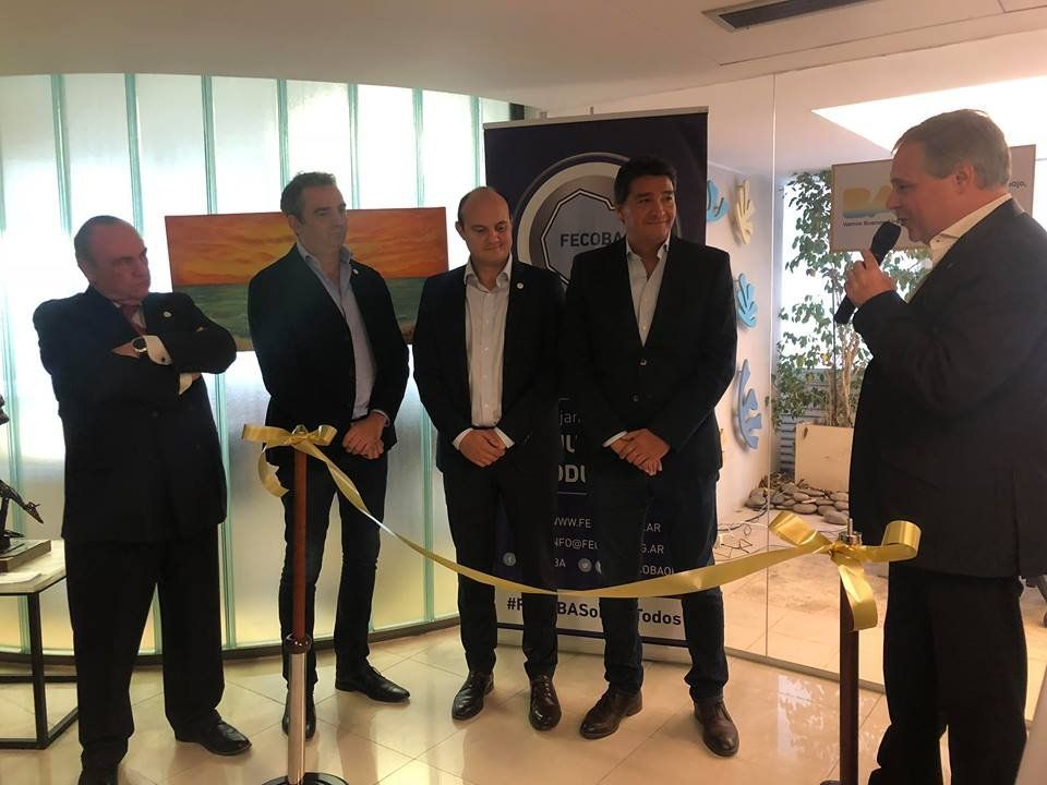 La Ciudad inauguró una oficina de trabajo en la Federación de Comercio