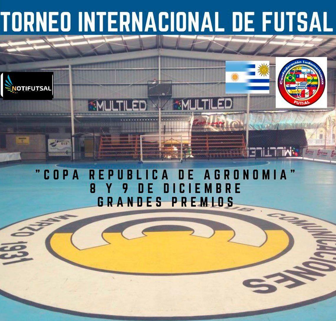 El futsal despide el 2018 con un gran campeonato en el Club Comunicaciones, el 8 y 9 de diciembre