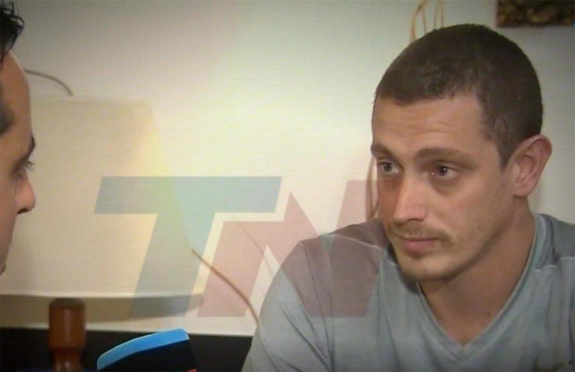 La excusa de Matías Firpo, el socio de River que atacó al micro de Boca: No supe controlar un impulso