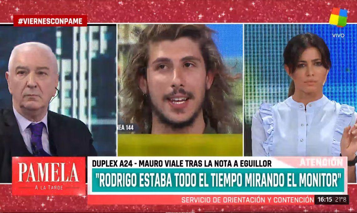Todo por $400: cómo consiguió Mauro Viale entrevistar a Rodrigo Eguillor, el enemigo público N° 1