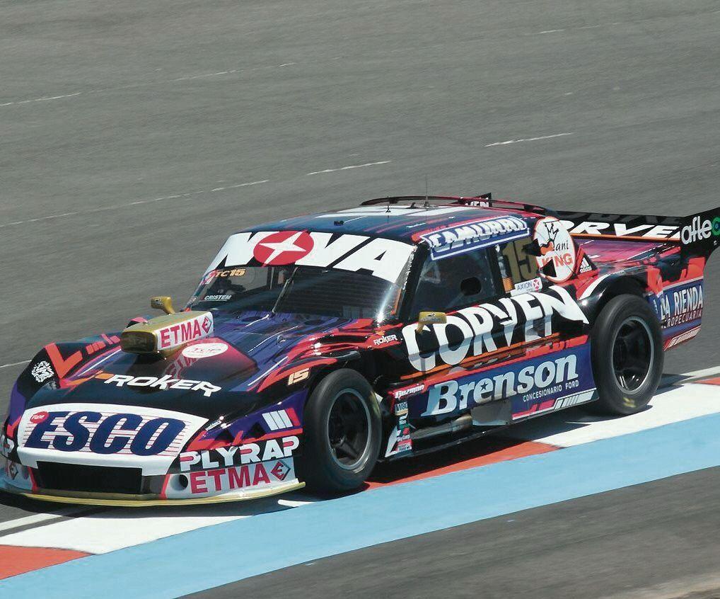 En el inicio para la definición del TC, Rossi está hecho un Misil