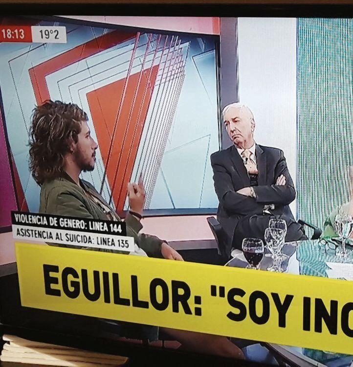dLa entrevista de Mauro Viale a Rodrigo Eguillor hizo estallar la polémica.