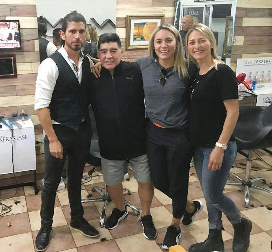 ¿Rocío Oliva dejó a Diego Maradona?