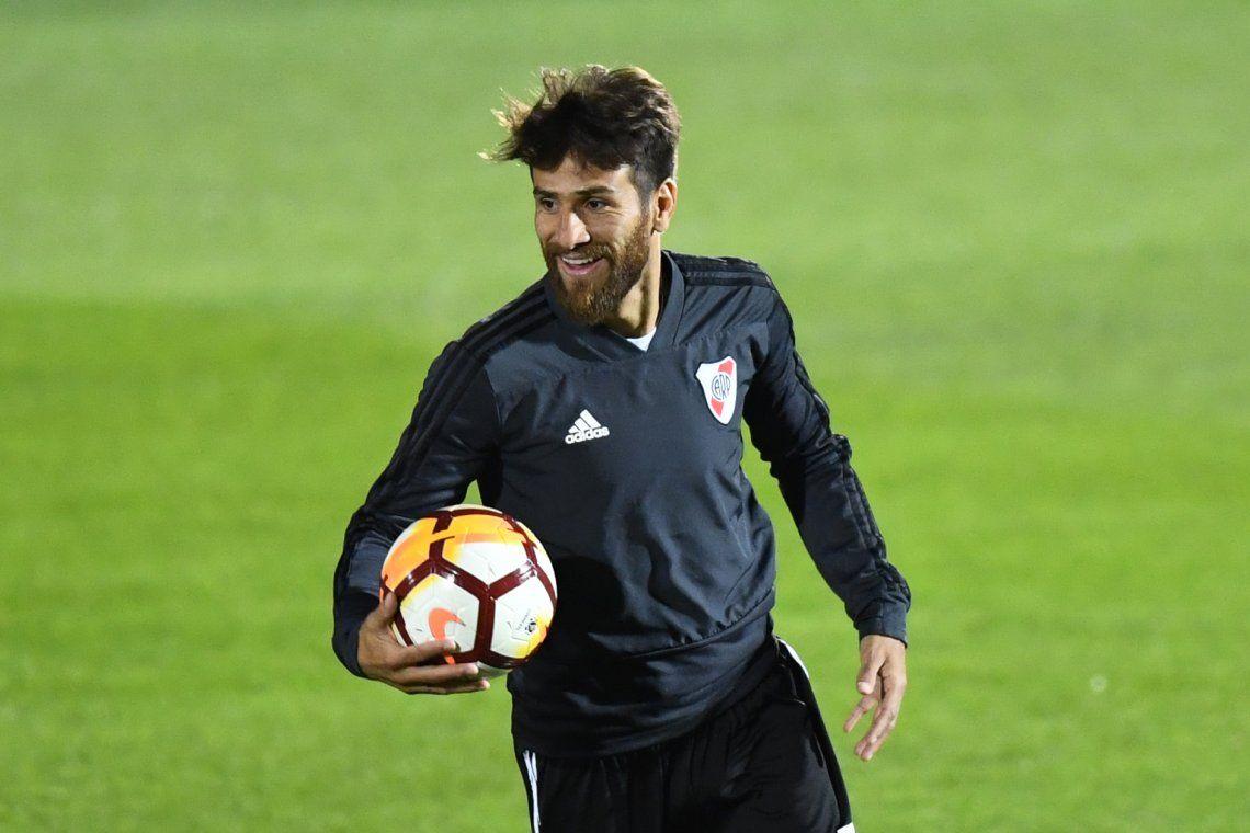 Con Zuculini suspendido, ¿Ponzio vuelve al once titular de River?