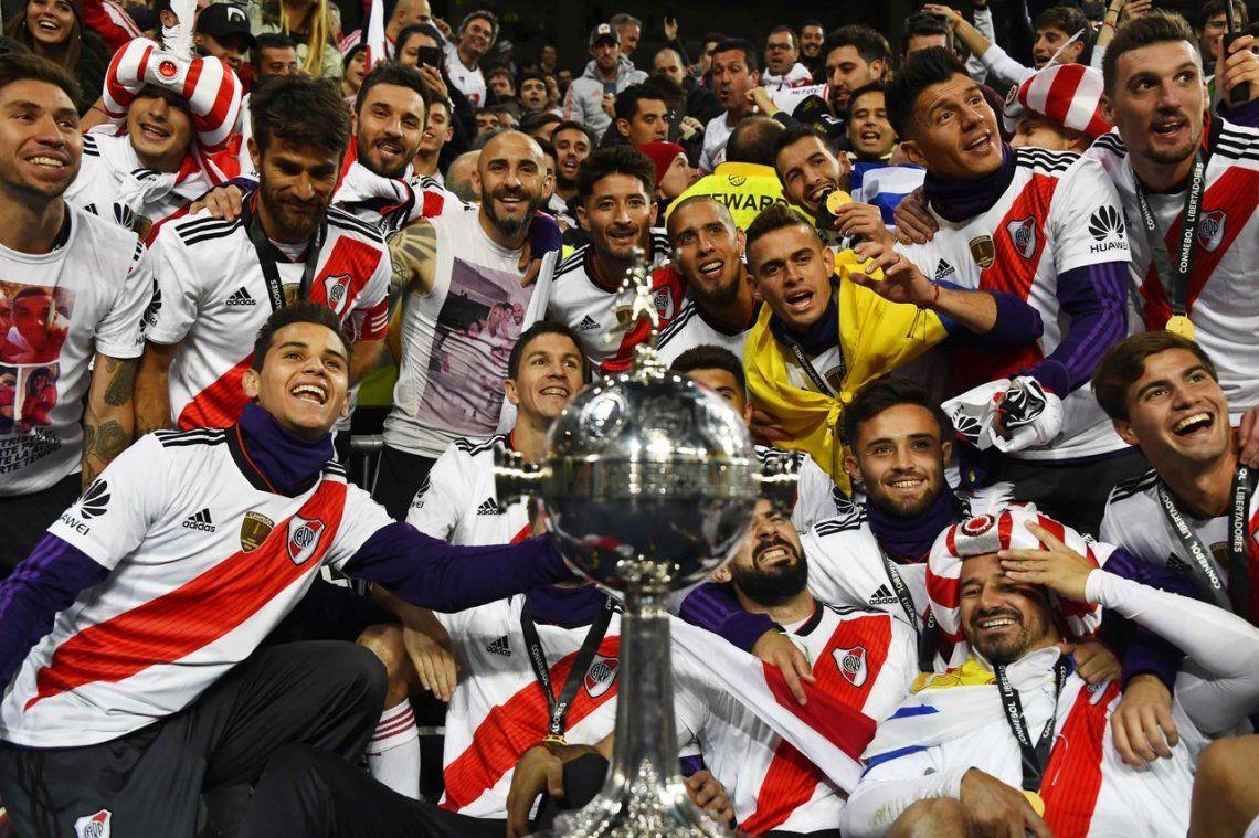 River ya piensa en el Mundial de clubes y presentó la lista para ir a Abu Dhabi